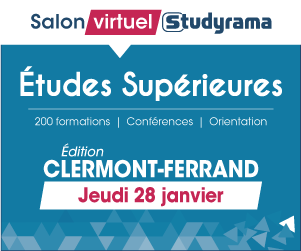 Second salon virtuel STUDYRAMA le jeudi 28 janvier 2021